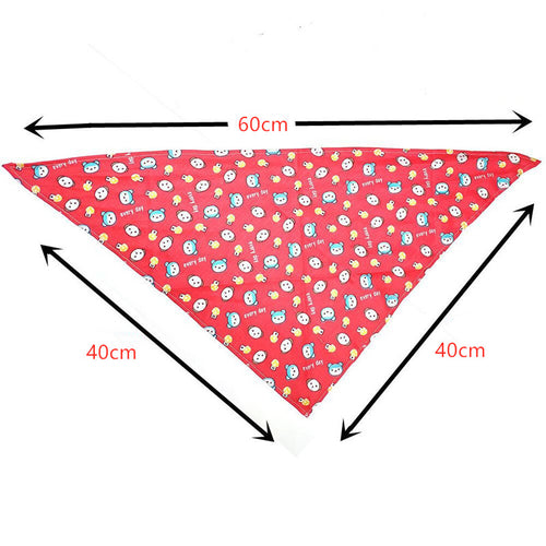 Nado Care Dog Bandanas, Triangle Dog Scarf, Washable and Adjustable, Bibs Dog Kerchief Set, Suitable for Small Or Medium Cat and Dog - Set 9