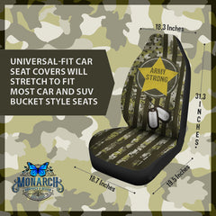 Army Strong Car Seat Cover