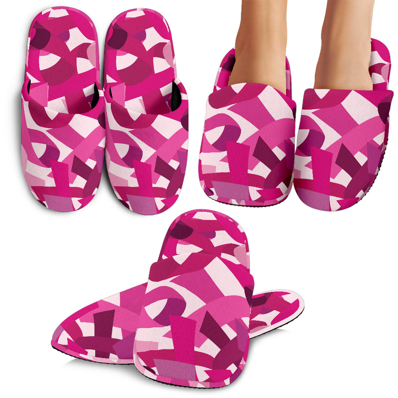Breast Cancer Awareness Slippers - Monarch Graphics & Design