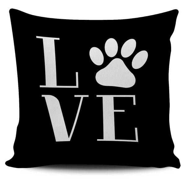 Love Dogs Pillow Cover - Monarch Graphics & Design