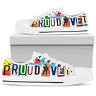 Proud Vet | Women's Low Top Shoes - Monarch Graphics & Design