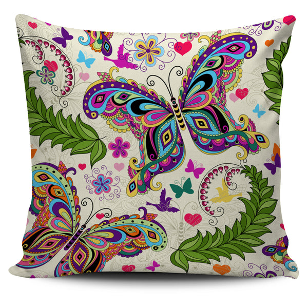 Butterfly Pillow Cover - Monarch Graphics & Design