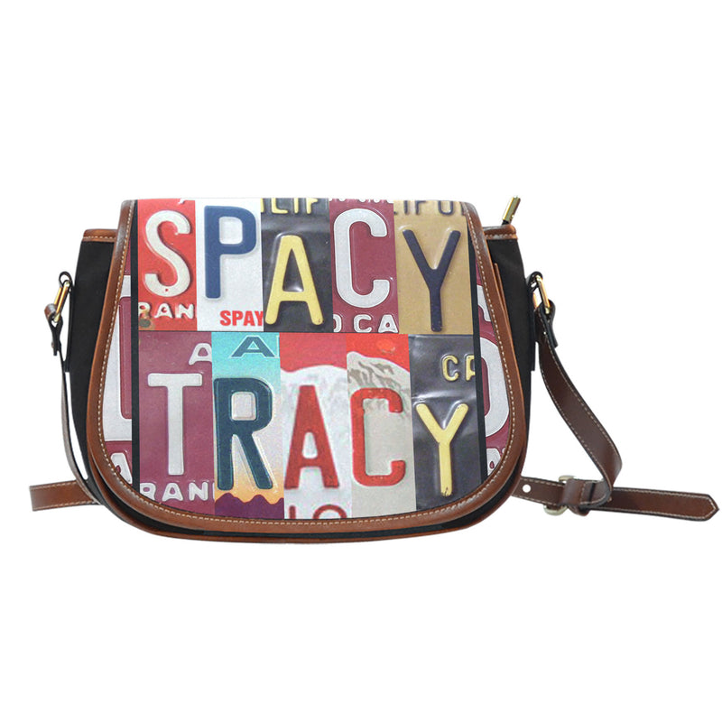 Spacy Tracy Saddle Bag - Monarch Graphics & Design