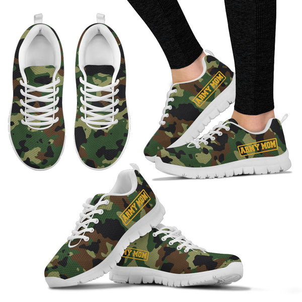 Army Mom -  Women's Sneakers - Monarch Graphics & Design