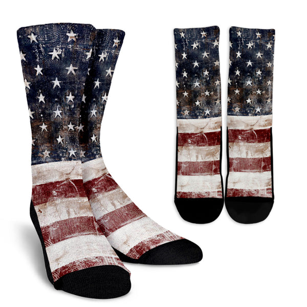 American Flag - Socks - Monarch Graphics & Design