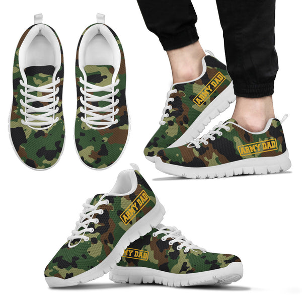 Army Dad - Men's Sneakers - Monarch Graphics & Design
