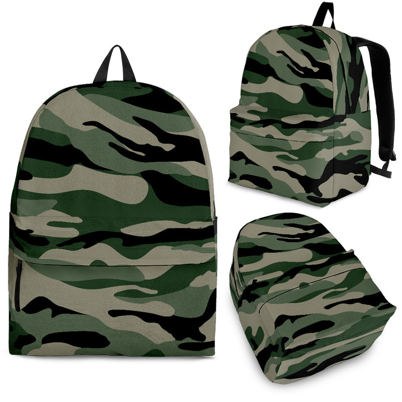 Camo Backpack - Monarch Graphics & Design