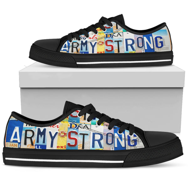 Army Strong | Men's Low Top Shoes - Monarch Graphics & Design