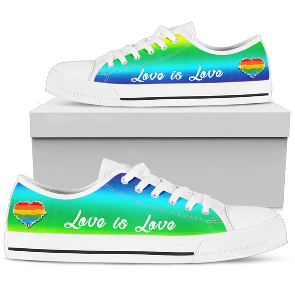 Love is Love | Low Top Shoes - Monarch Graphics & Design