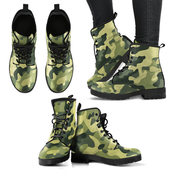 Camo Boots - Women's - Monarch Graphics & Design