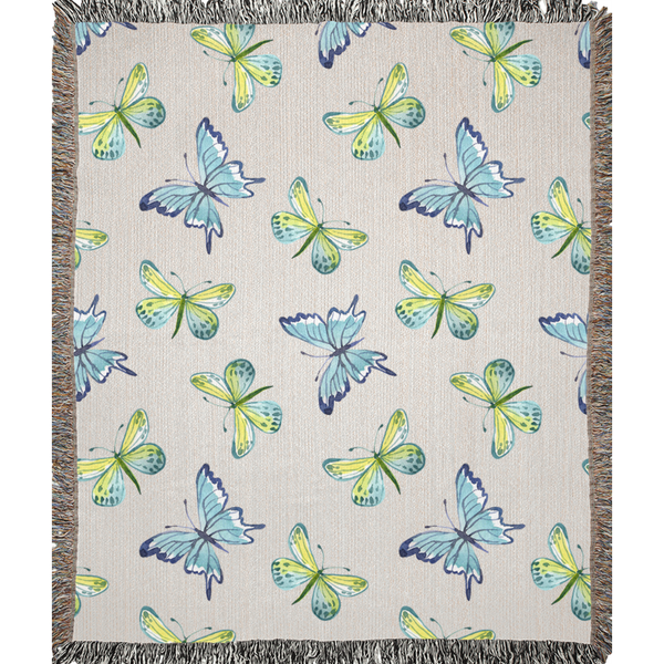 Butterfly Blanket - Monarch Graphics & Design