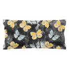 Butterfly Black & Yellow Pillow Sham - Monarch Graphics & Design