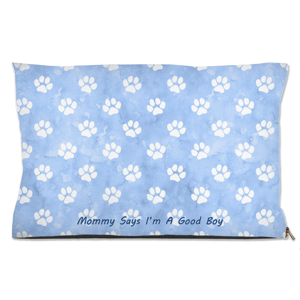 Mommy Says I'm A Good Boy - Cat/Dog Bed - Monarch Graphics & Design