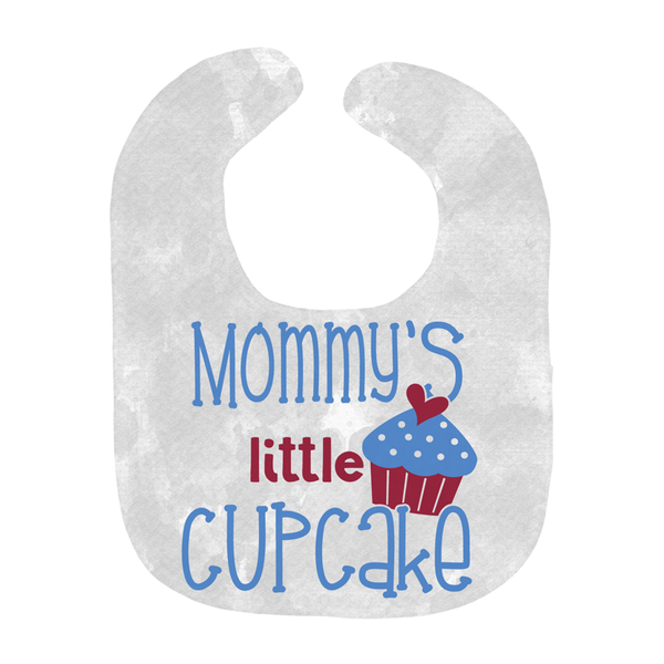 Mommy's Little Cupcake | Bib - Monarch Graphics & Design