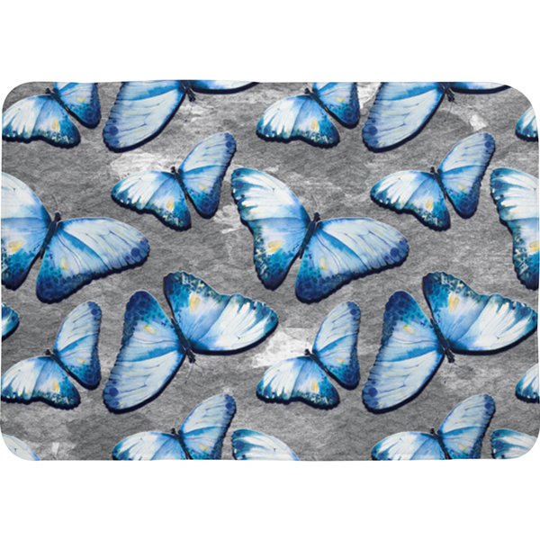 Butterfly Bath Mat - Monarch Graphics & Design