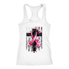 Breast Cancer Ribbon /American Flag / Sunflower