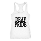 Deaf Pride - Black Text - Monarch Graphics & Design