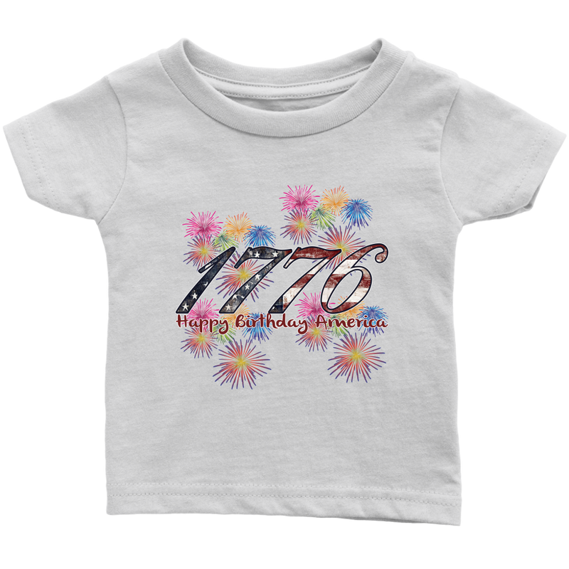 4th of July Matching Family Shirts - 1776 - Monarch Graphics & Design