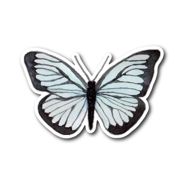 Butterfly - Sticker - Monarch Graphics & Design