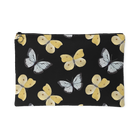 Black & Yellow Butterflies - Accessory Pouch - Monarch Graphics & Design