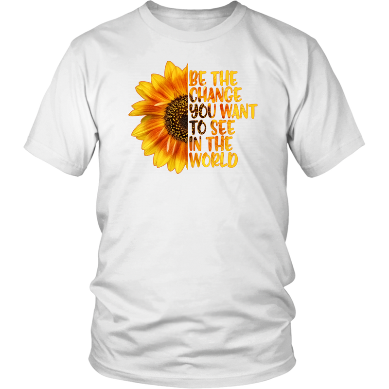 Be The Change - Monarch Graphics & Design