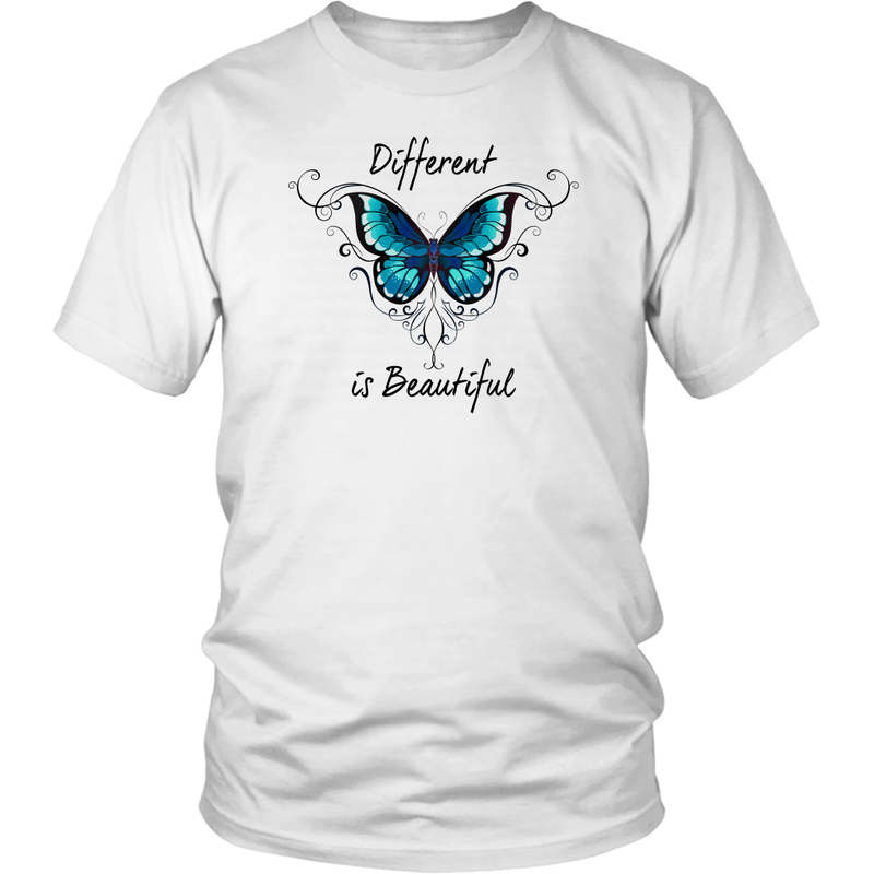 Different is Beautiful - Monarch Graphics & Design