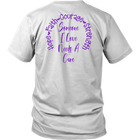 I Will Remember For You - Alzheimer's Awareness - Monarch Graphics & Design