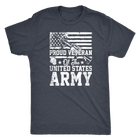 Proud Veteran of the United States Army - Monarch Graphics & Design