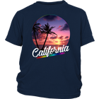 California Sunset - White Text - Monarch Graphics & Design