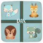 Dax | Hooded Baby Towels - Monarch Graphics & Design