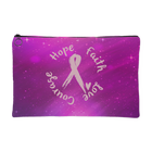 Hope, Faith, Love, Courage - Accessory Pouch - Monarch Graphics & Design