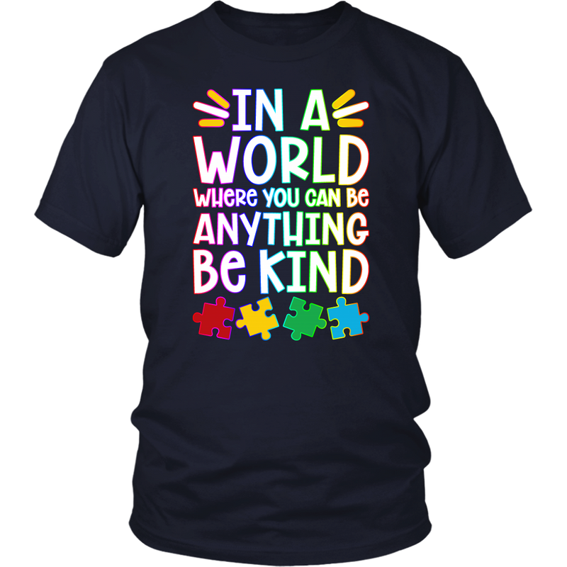 Autism - Be Kind - Monarch Graphics & Design
