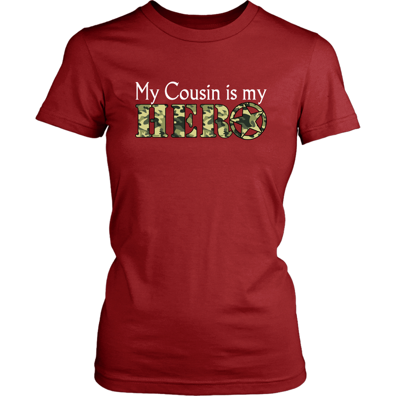 My Cousin is my Hero - Monarch Graphics & Design