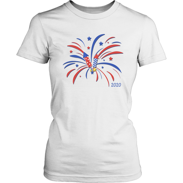 Fireworks 2020 - 4th of July Shirts for the Entire Family - Monarch Graphics & Design