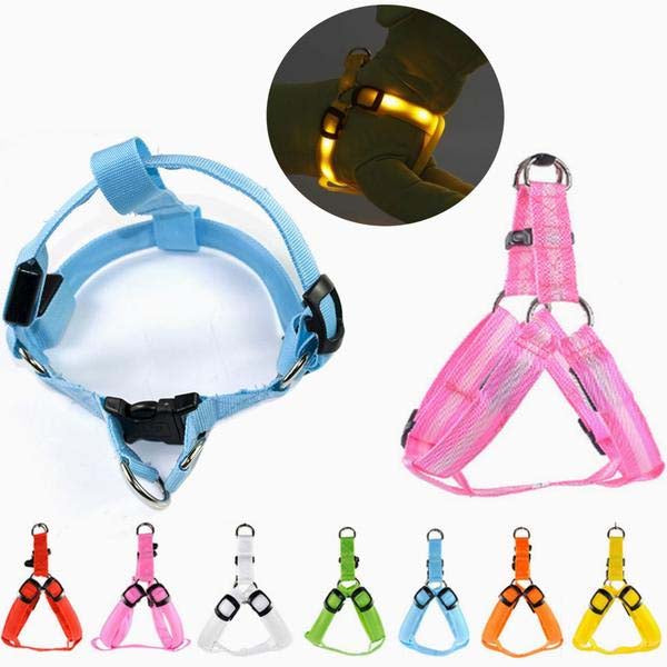 Nylon Pet Safety LED Harness Dog - Monarch Graphics & Design