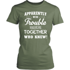 Trouble Together - Monarch Graphics & Design