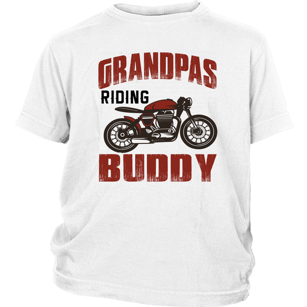Grandpa's Riding Buddy - Monarch Graphics & Design