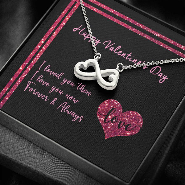Valentine's Day - Infinity Necklace