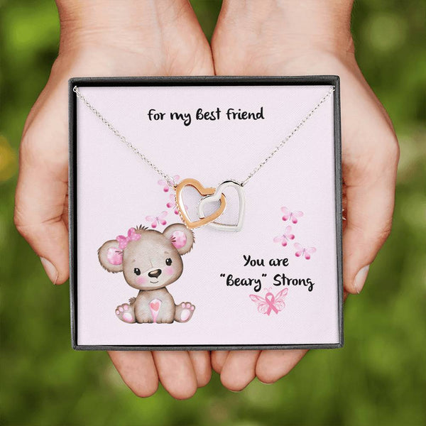 Best Friends | Two Heart Necklace - Monarch Graphics & Design