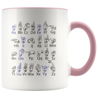 ASL ABC's - Mug - Monarch Graphics & Design