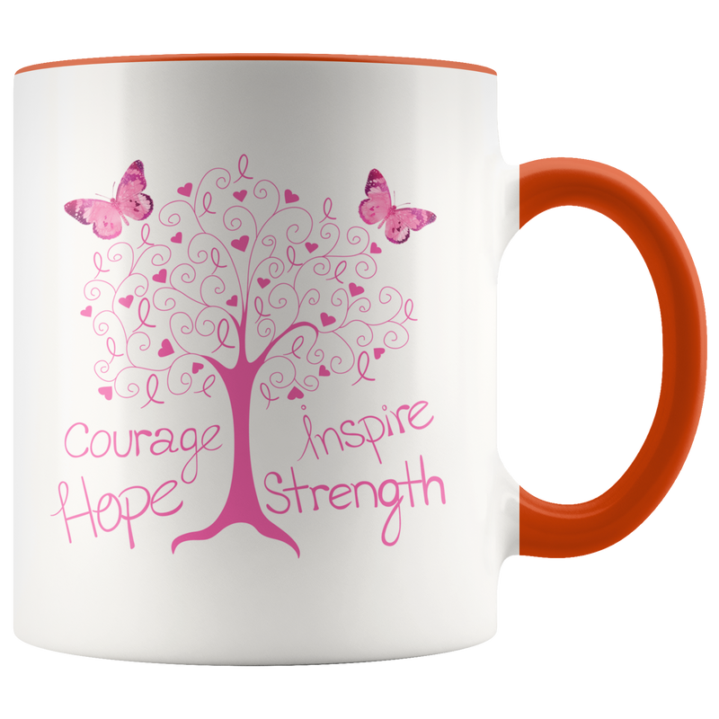 Cancer Living Tree - Mug - Monarch Graphics & Design