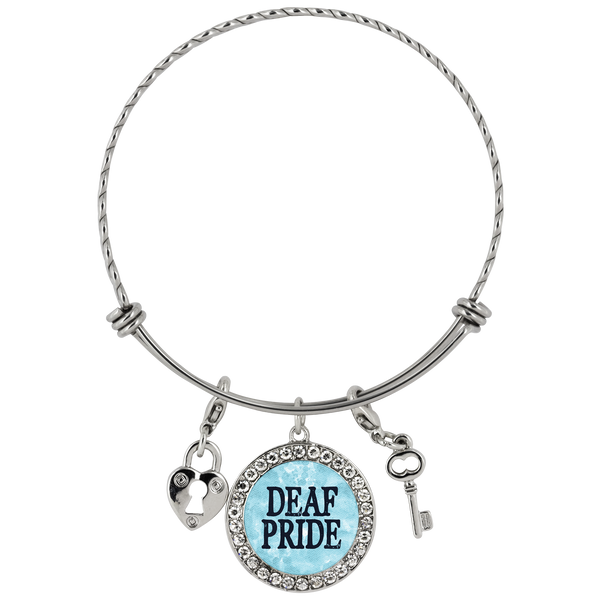Deaf Pride - Bracelet - Monarch Graphics & Design
