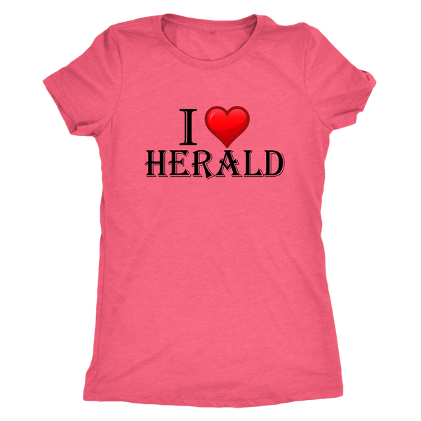 I Love Herald - Monarch Graphics & Design