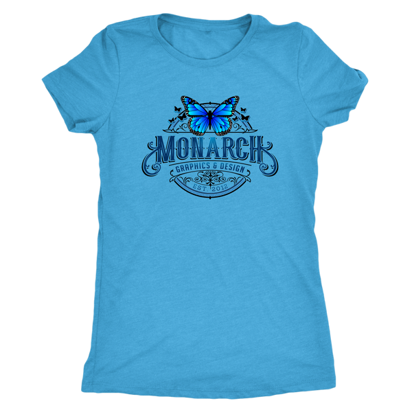 Monarch Graphics & Design Logo - T-Shirt - Monarch Graphics & Design