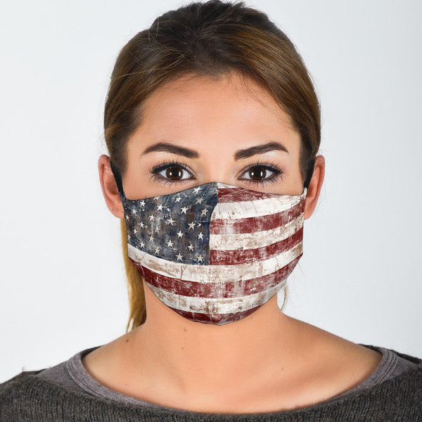American Flag | Face Mask - Monarch Graphics & Design