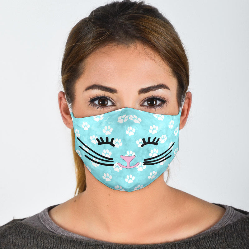 Cat Face | Face Mask - Monarch Graphics & Design