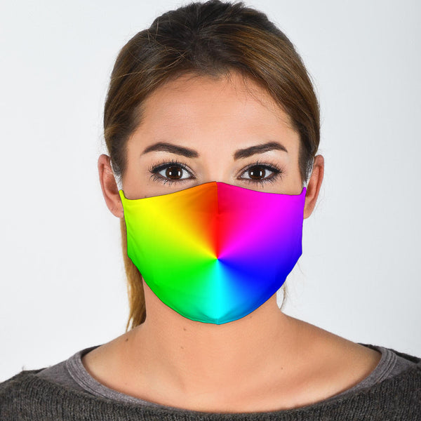 Rainbow | Face Mask - Monarch Graphics & Design