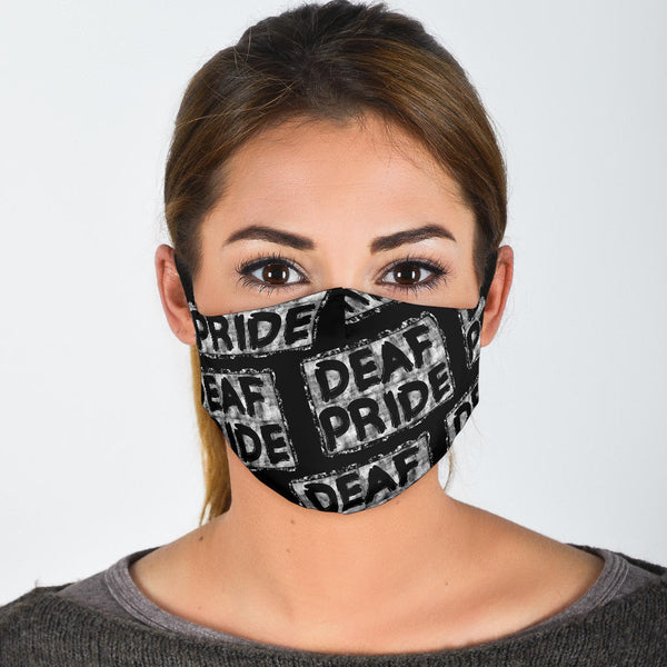 Deaf Pride | Face Mask - Monarch Graphics & Design