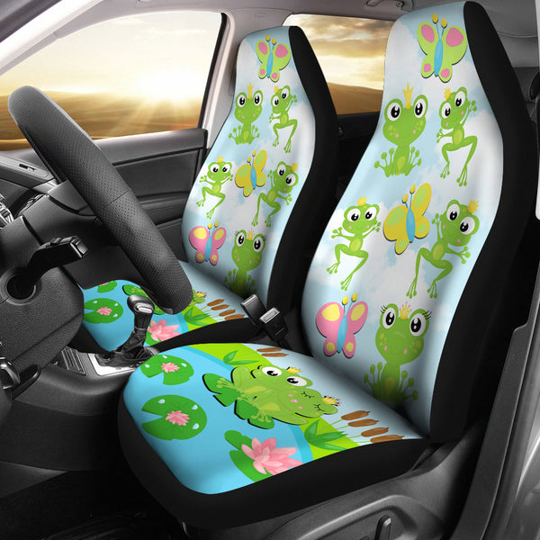 Frog Car Seat Covers - Monarch Graphics & Design