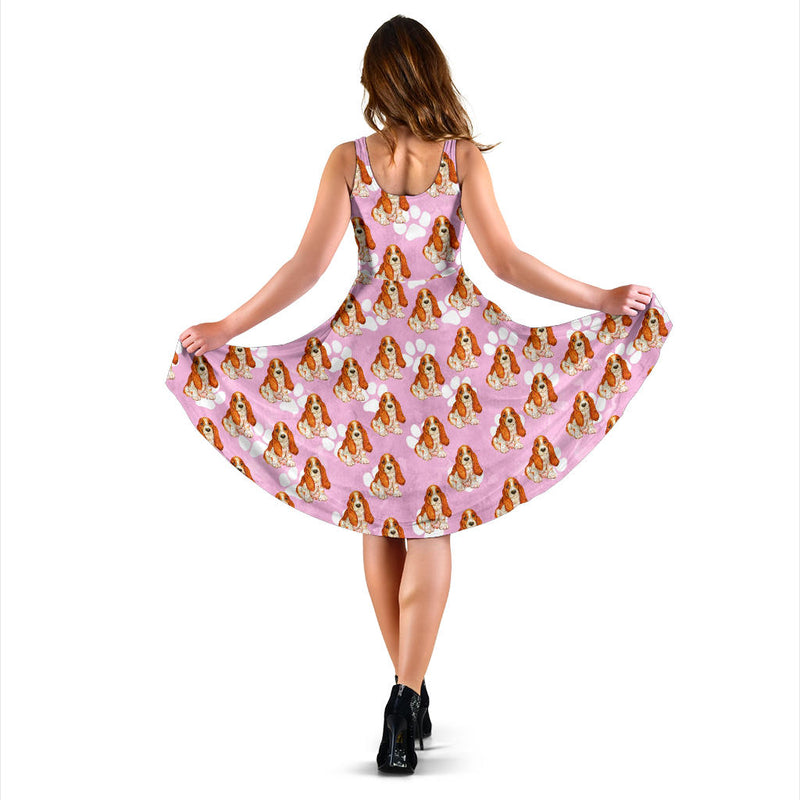 Basset Hound Lover Dress - Monarch Graphics & Design